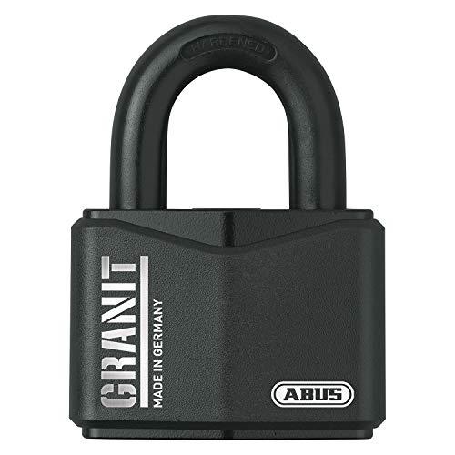 ABUS Vorhangschloss Granit 37/70 Premium-Schloss für höchste Beanspruchungen - Sicherheitslevel 10 - inkl. 2 Schlüssel - schwarz - 20117