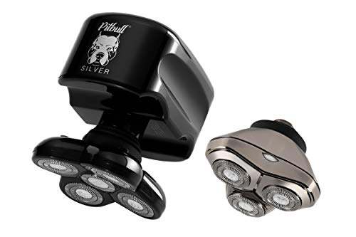 Skull Shaver Pitbull Silver Plus Electric Razor...