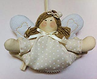 ANGELO ANGIOLETTO per culla o cameretta, da regalare per nascita bimbo o bimba colori a richiesta fatto a mano