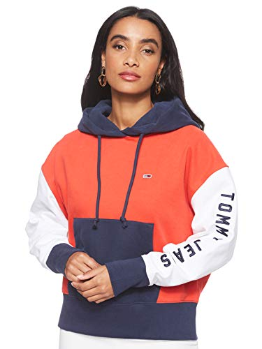 Tommy Jeans Contrast Sleeve Logo W hoodie