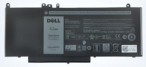DELL LATITUDE E5570 E5470 4 CELL 62WHR LITHIUM ION BATTERY PART NUMBER 7V69Y 6MT4T