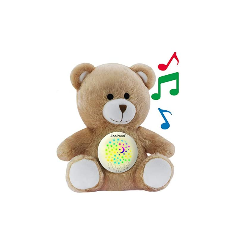 crib bedding and baby bedding zoopond - baby sound machine, white noise machine baby, baby soother, crib soother. baby sound machine for sleeping, crib toys with music and lights, baby sleep aid, new baby gift. susher zp0003
