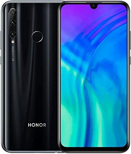 "HONOR 20e Smartphone 4GB + 64GB Kirin 710F Octa Coeur Téléphone Portable 6,21"" HD+ Écran sans Bordure, Téléphone Intelligent Triple Caméra à Objectif Inteligente AI 24MP, Android 9.0, Dual SIM 4G"