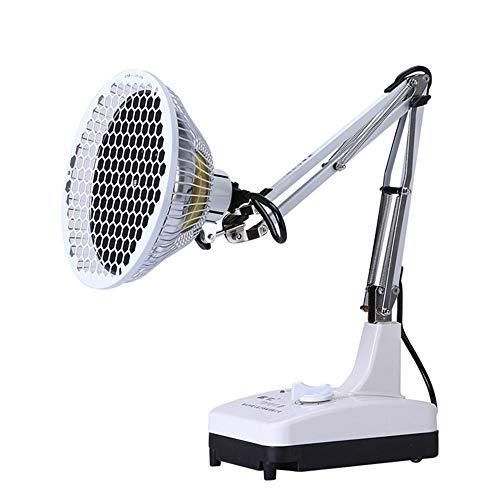 ZZX Lámpara de Calor Infrarroja Mineral TDP Portátil, Dispositivo de Fisioterapia de Ondas de Radio Electromagnéticas de 250 W para La Salud y La Belleza