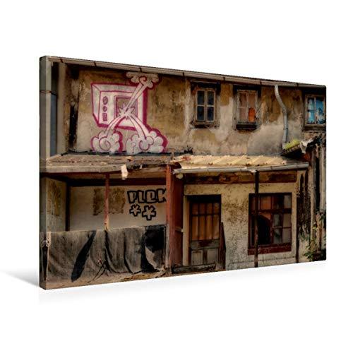 CALVENDO Erfurts Toile de qualité supérieure en Tissu Motif Jardin de cerf 75 x 50 cm