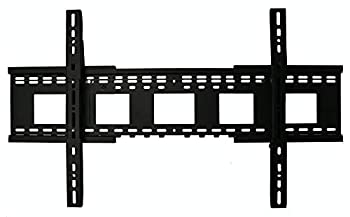 Wall Mount World - Universal Flat Wall Mount Expands Fitting 32in- 90in displays fits Samsung QN49Q65FNFXZA QN49Q65FNFX QN49Q65FNF QN49Q65FN QN49Q65F QN49Q65 TVs