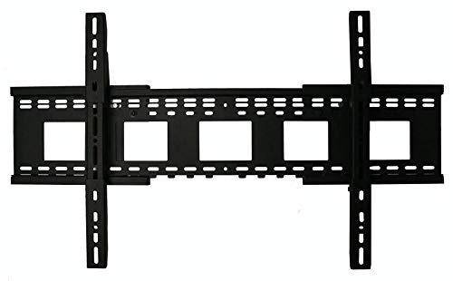 THE MOUNT STORE Expandable Fixed Position TV Wall Mount for Sharp 55 4K UHD HDR Smart TV LC-55P620DU VESA 200x200mm