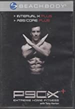 P90X Plus + Interval X Plus and ABS/Core DVD Workout Video Tony Horton Beachbody