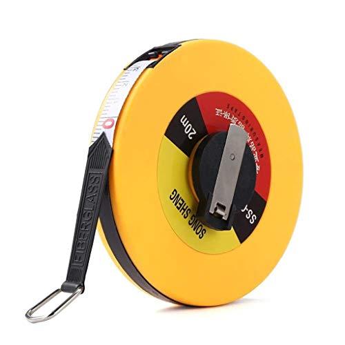 WHYDIANPU Engineering MeasuringFabric Bandmaat intrekbaar zacht flexibel meetlint voor 20 m.