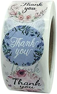 """Pengpen 1"""" Thank You Stickers Roll of 500 Pcs 