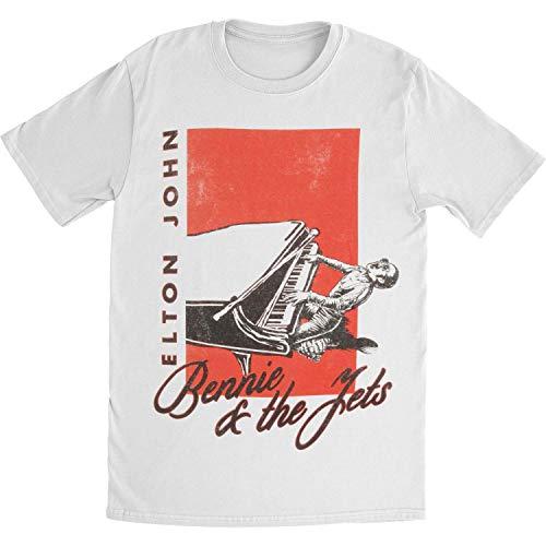 Elton John Bennie and The Jets Camiseta - blanco - Medium