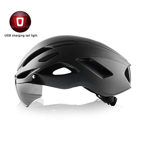 Coil.c – Casco de bicicleta con gafas de protección desmo