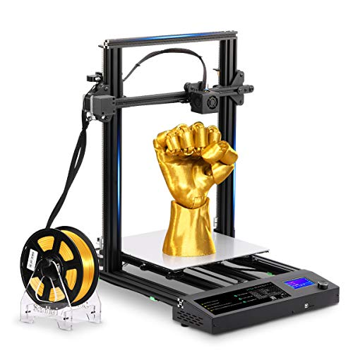 SUNLU FDM 3D Printer DIY,Most Metal (PLA/ABS/SILK PLA) Printing Materials,Large Size 310mmx310mmx400mm Printing Size, Support Cura Software, S8 Black