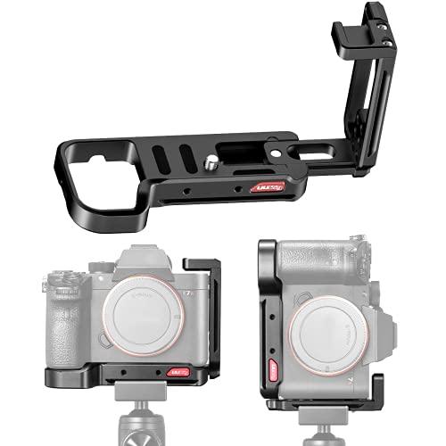 UURig L Winkel für Sony A7iii L Bracket L Platte A7III A7R3/A7M3 Arca Swiss Schnellwechselplatte L Handgriff Mit 1/4