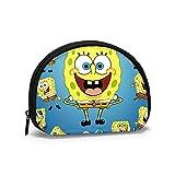 Spongebob'S Diversity - Monedero para hombre, diseño de concha, color con cremallera