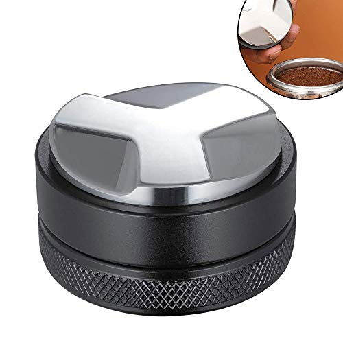 panthem 53mm Kaffeeverteiler, Espresso Verteilungswerkzeug, Kaffee Richtmaschine Passend für 54 mm Breville Portafilter Professionelles Espresso Verteiler Richtwerkzeug