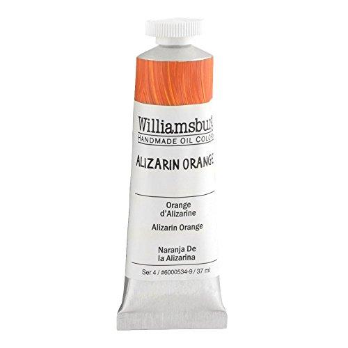 Williamsburg Oil 37ml Tube, Alizarin Orange (60005349)
