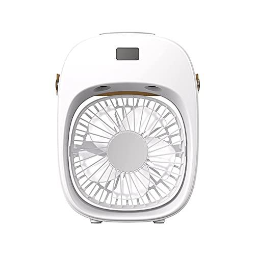 ZHOUJ Aire Acondicionado portátil, Ventilador de Aire Acondicionado de Escritorio USB Pequeño Aire frío purificación de humidificación de Aire Enfriador de Aire Silencio