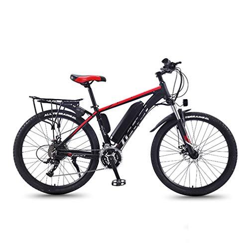NYPB Elektrisches Mountainbike, 26 Zoll E-Bike Elektro Faltrad mit Lithium-Akku (36V 8Ah/10Ah/13Ah), 350W Motor 27-Gang-Getriebe für Fitnessübungen im Freien,Color 1/Wheel a,36V13AH