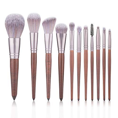 Pinceaux 11 PCS pinceaux de maquillage prime synthétique Fondation poudre correcteurs ombre à paupières Maquillage Brush Sets Beauté du visage