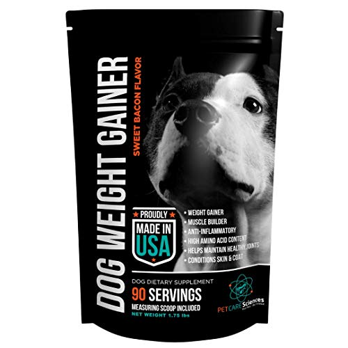 Top 10 best selling list for best supplement for dogs to gain weight