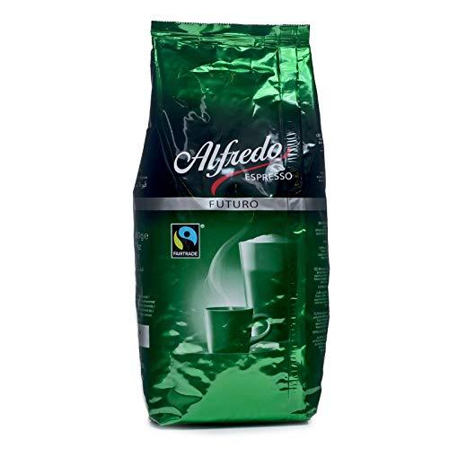 Alfredo Espresso Futuro Fairtrade Kaffee ganze Bohne 6 x 1kg