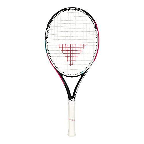 Tecnifibre T- Rebound 260 TEMPO2 POWERLITE - Raqueta de Tenis para Mujer, Color Negro, Grip 2