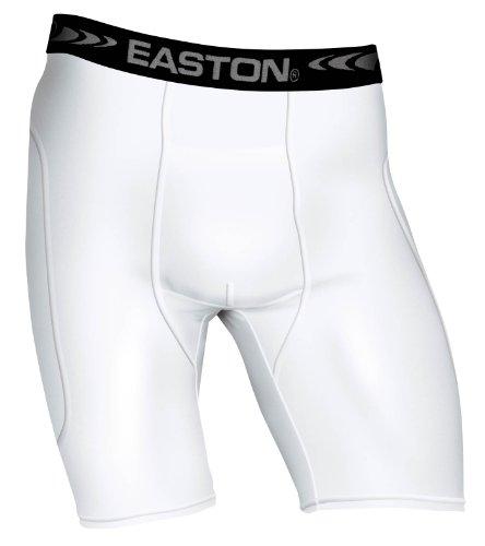 EASTON SAFE Sliding Short, Youth, XLarge, White
