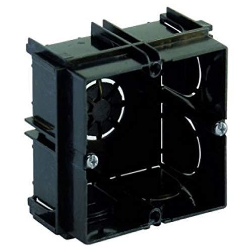 MJCC x10 Unidades - Cajas EMPOTRAR Electricidad Pared • Cajas ELECTRICAS Mecanismo EMPOTRABLE • para EMPOTRAR ENCHUFES E INTERRUPTORES • Universal • 65X65X40