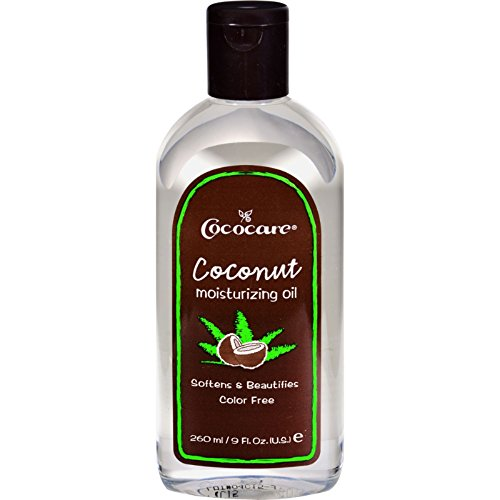 Cococare Coconut Moisturizing Oil 9 Ounce (260ml) (6 Pack)