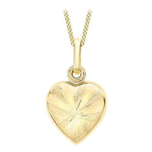 Carissima Gold Damen - Kette 9 k (375) Rundschliff Diamant 1.44.7134