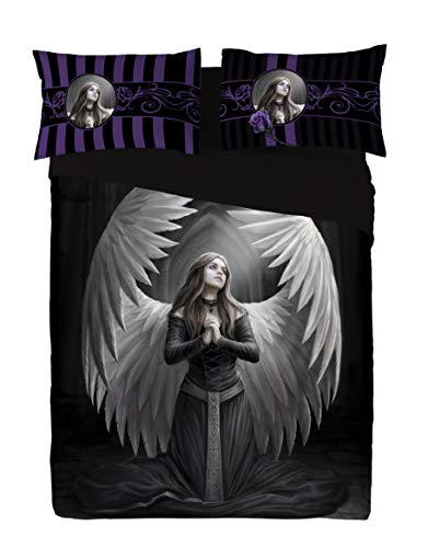 Wild Star Home Guardian Angel Duvet & Pillows Case Covers Set for Queensize Bed