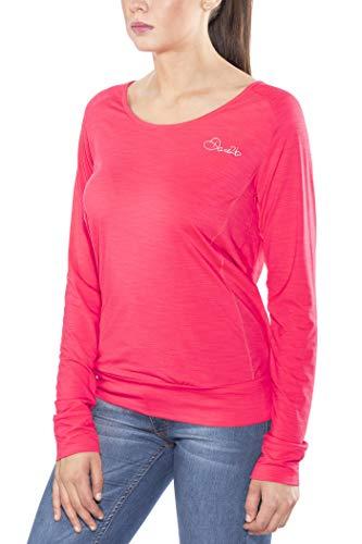 Dare 2b pour Femme Extravertie Manches Longues t-Shirts/Polos Vestes XS Rose Fluorescent