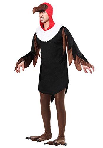 Fun Costumes Erwachsenes Geier-Kostüm - XL