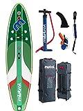 Mistral La Bamba 10'5' Single Chamber tecnología DSFL, tabla de surf de remo, SUP, hinchable, incluye tabla de surf de remo, SUP