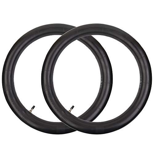 RUHUO - Juego de 2 cámaras de aire 3.00/3.25-18 con vástago de válvula derecha TR4 de repuesto para neumáticos de moto Pro Sport