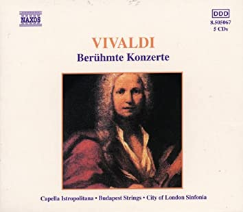 VIVALDI: Beruhmte Konzerte