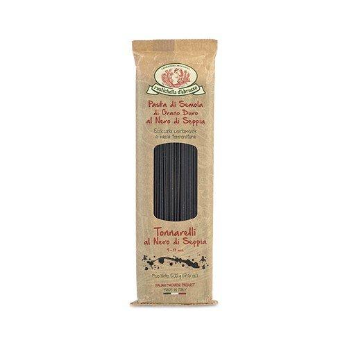 Rustichella d'Abruzzo Durum Wheat Squid Ink Tonnarelli (Spaghett