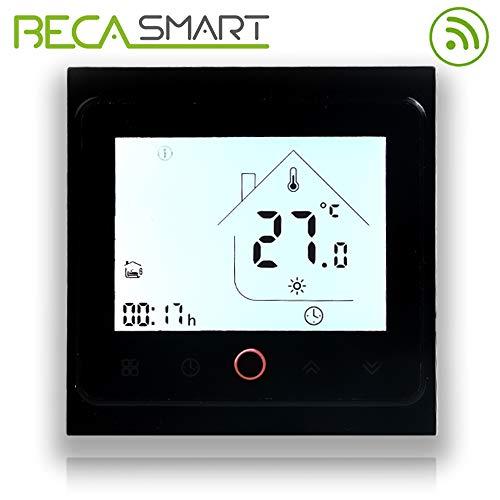 BECA 002 Serie 3 / 16A Pantalla táctil LCD Agua/Calefacción...