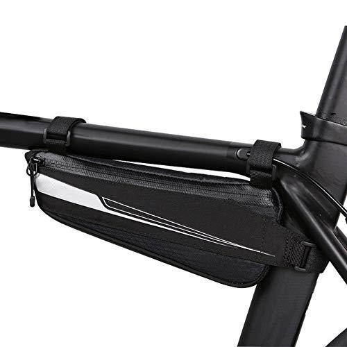 Bolsa de sillín de ciclismo Bicicleta de carretera bicicleta de ciclo del marco superior del tubo del frente del Pannier Bolsa Triángulo paquete de bolsa Bolsa de bicicleta de carretera profesional