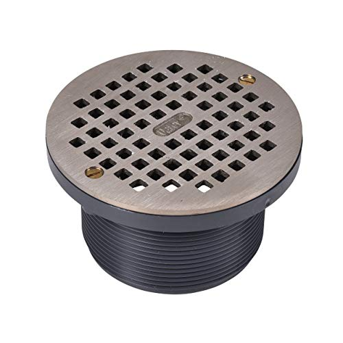 Round NI Grate & Plastic Barrel