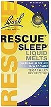 Bach Rescue Sleep Natural Sleep Remedy Liquid Melts Natural Sleeping Aid FamilyValue3Pack (28count) UIf#Bach