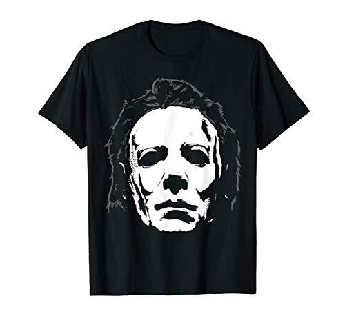 Halloween Michael Myers Mask Big Face T-Shirt