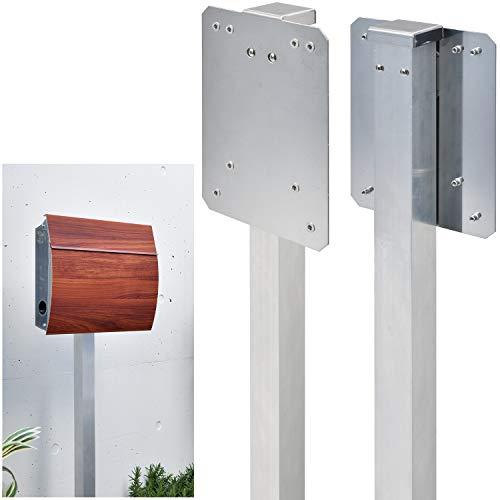 LEON(レオン)壁掛けポスト専用 ポール スタンド 自立 ポール立て MB4801 MB4504 MB5207 MB4502 MB4902 適応 支柱 アルミ製 アダプター ステンレス製 日本製