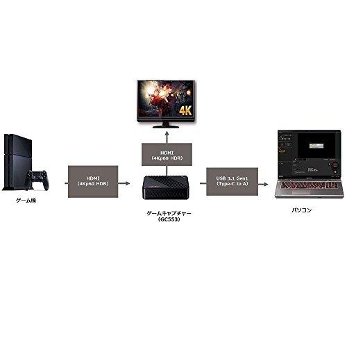 AVerMediaLiveGamerUltraGC553[4Kパススルー対応USB3.1接続外付けゲームキャプチャーボックス]DV488