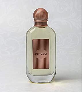 Khiyam for Men   Perfume Spray   Amber, Leather, Patchouli, Sandalwood, Cedar Wood   75ML   Junaid Perfumes