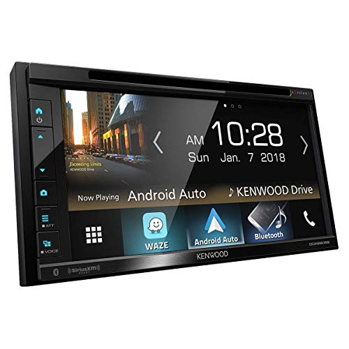 Kenwood Excelon DDX6905S 6.8' WVGA 2-DIN Multimedia DVD Receiver w/Wired CarPlay and Android Auto