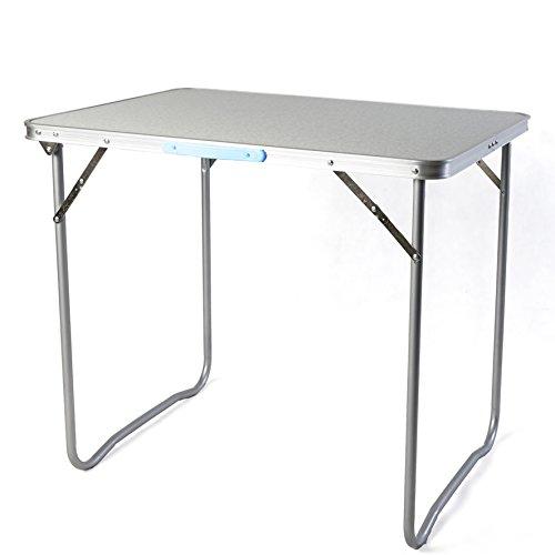 Campingtisch klappbar 60x80x68 Bistro Tisch Tragegriff Falttisch Picknicktisch