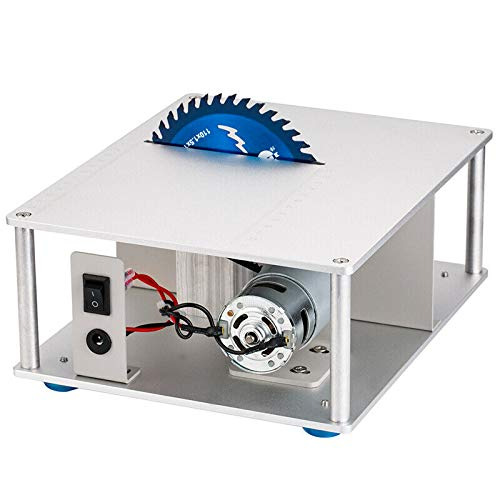 NovelLife Mini Hobby Table Saw with Variable Speed Control