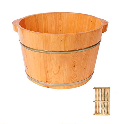 Baibao de madera de lavado pediluvio Barrel Foot Spa Benna del pie Barrel Pedicura barril pediluvio, Sauna Accesorios, Pedicura, Detox, Masajes Lavabo Foot Spa Benna